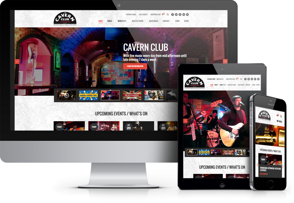 cavern website